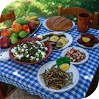 Greek traditional food from Rodos